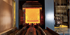 Photo of U.S. Bolt heat treatment